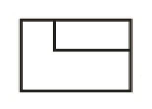 Krajní jednomístná část s napojením na pravou stranu a úložným prostorem Jenna Š 109 cm x V 84 cm x H 98 cm