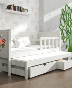 Dětská postel s přistýlkou Evita 21