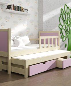 Dětská postel s přistýlkou Evita 36