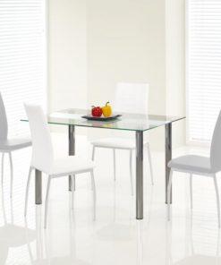 Skleněný jídelní stůl Makis