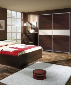 Moderní tmavá ložnice Diego 1