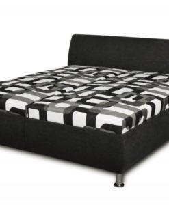 Čalouněná postel Magie - černá