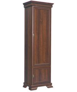 Úzká šatní skříň Gladys 1