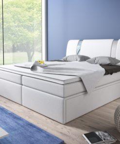 Čalouněná manželská postel Sabatino