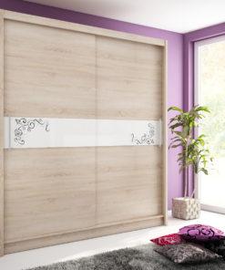 Šatní skříň s posuvnými dveřmi Medeila 10