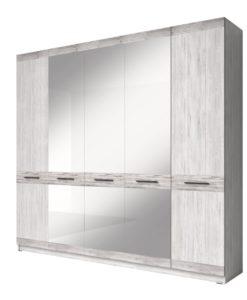 Šatní skříň se zrcadlem Pierot 2