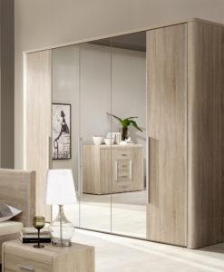 Šatní skříň se zrcadly Volinois RM