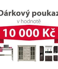 Dárkový poukaz za 10 000 Kč na nábytek podle vlastního výběru