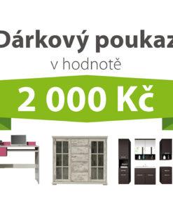 Dárkový poukaz za 2 000 Kč na nábytek podle vlastního výběru