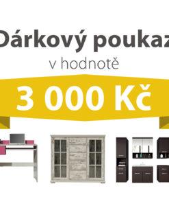 Dárkový poukaz za 3 000 Kč na nábytek podle vlastního výběru