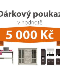 Dárkový poukaz za 5 000 Kč na nábytek podle vlastního výběru