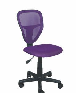 Dětská otočná židle Sukie 1 - fialová