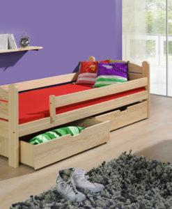 Dětská postel se zábranou Milesa