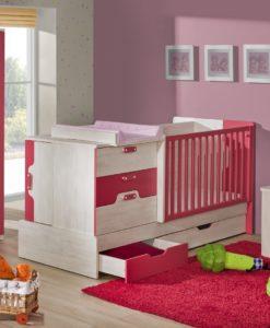 Dětský pokoj pro miminko s rostoucí postýlkou Noly 3