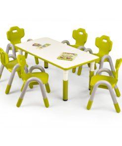 Dětský stůl Marty 1 - zelený