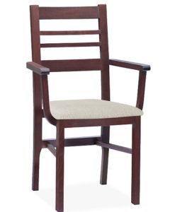 Dřevěná jídelní židle Latafa
