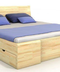 Dřevěná postel Visa 6 - masiv borovice