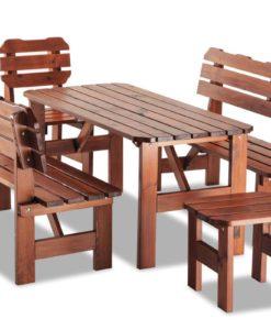 Dřevěná zahradní sestava Alvis 2