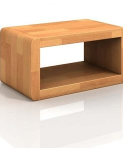 Dřevěný noční stolek Bent 1
