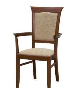 Jídelní židle s područkami Lord 3 - kaštan