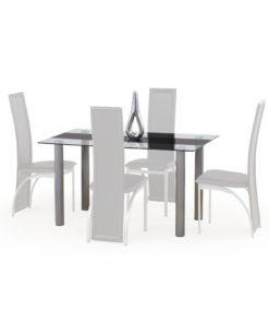Jídelní stůl Luis 1 - černý pás