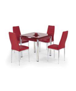Jídelní stůl Nestor 4 - červený