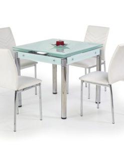 Jídelní stůl Nestor 5 - mléčné sklo