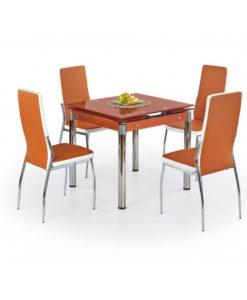 Jídelní stůl Nestor 6 - oranžový
