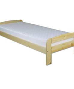Jednolůžková borovicová postel Dominika