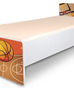 Jednolůžková dětská postel Basketbal 2