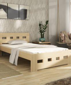 Jednolůžková postel Tailery - masiv
