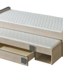 Jednolůžková postel s přistýlkou Allarica 16