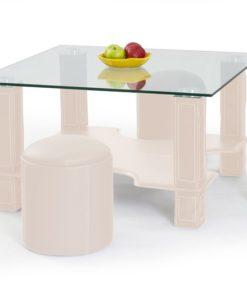 Konferenční stolek s taburety Merad