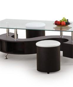 Konferenční stolek s taburety Ronen 1