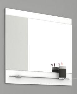 Koupelnové zrcadlo s policí Lorieta b