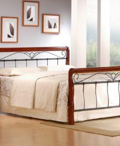 Kovová manželská postel Tasia 2