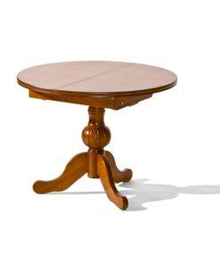 Kulatý jídelní stůl Allegra – rozkládací