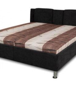 Manželská postel SOPHIA varianta hnědo-černá