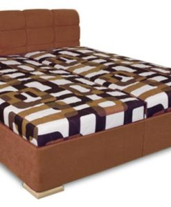 Manželská postel Violetta - hnědá I