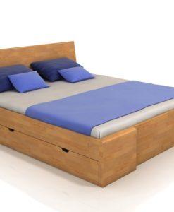 Manželská postel Visa 5 s úložným prostorem