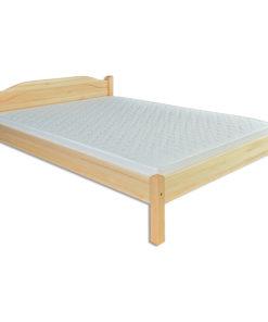 Manželská postel z masivu borovice Safir
