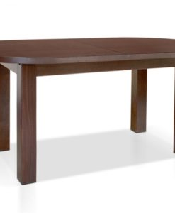 Oválný jídelní stůl Mattia s přídavnou deskou