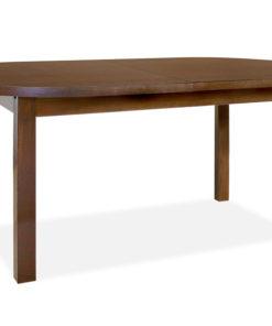 Oválný jídelní stůl Median s přídavnou deskou