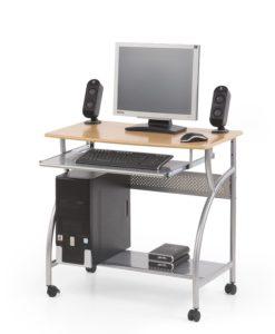 Počítačový stůl s výsuvnou deskou Salmon