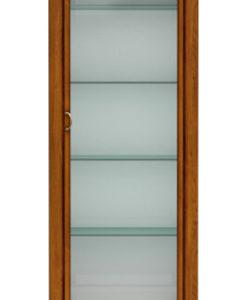 Prosklená vitrína se zrcadlem Celie 2