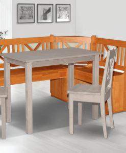 Rohová jídelní lavice Namara