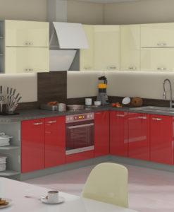 Rohová kuchyňská linka Skarlet 1