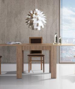 Rozkládací jídelní stůl a 3 židle - sestava Gladis 1