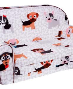 Rozkládací pohovka pro děti Puppy
