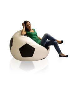 Sedací míč Fotbal XXXL